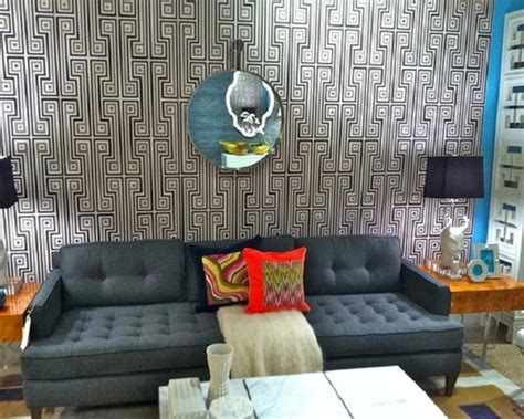 15 captivating bedrooms with geometric wallpaper ideas 15 living rooms with geometric wallpaper rilane