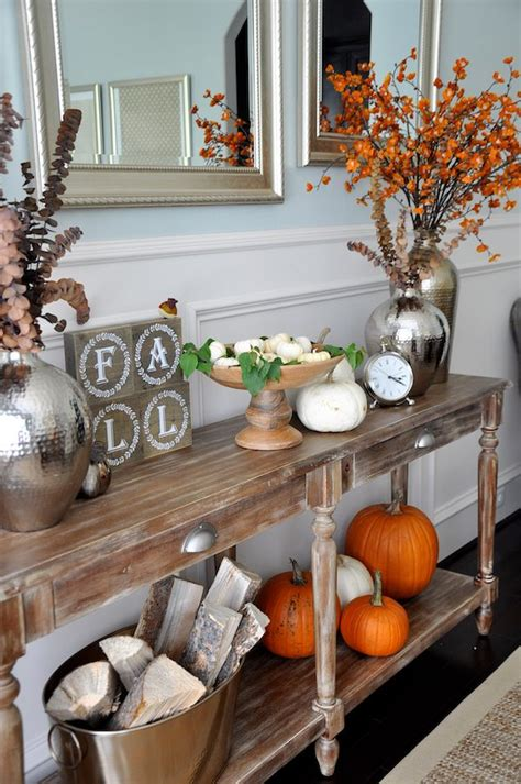 hobby lobby fall decor fall dining room console styling honey we re home