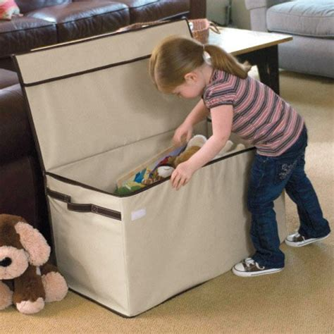 Toy Box For Living Room | personalized large collapsible toy box findgift com
