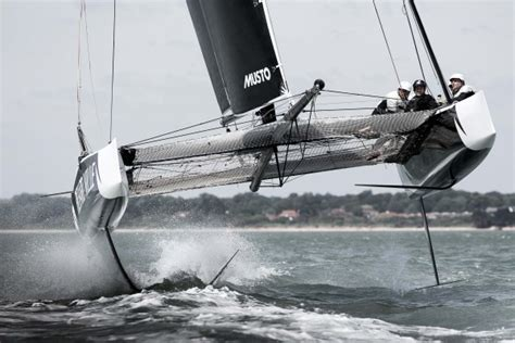 catamaran for sale oman gc32 the cat that learned to fly at 30 knots yachting world