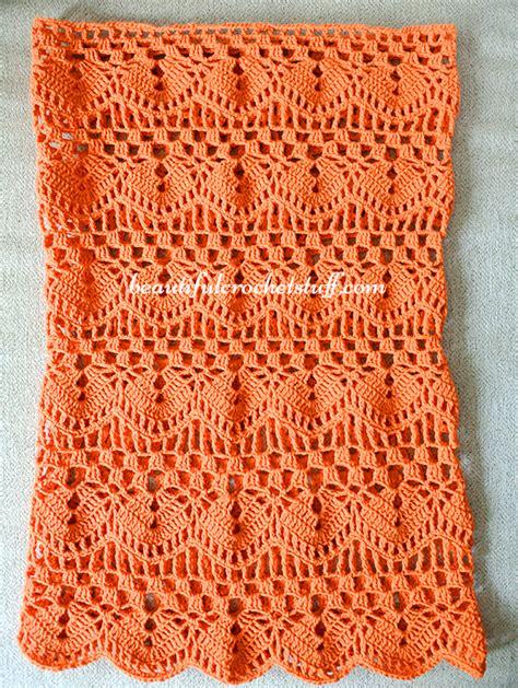 Crochet Leaf Tunic Free Pattern Beautiful Crochet Stuff free crochet tunic pattern crochet sweaters crochet