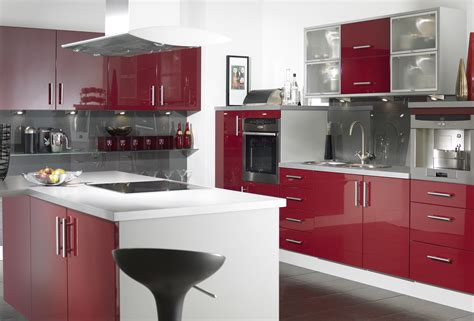 red kitchen furniture idyllic white and red kitchen cabinets sets as well as