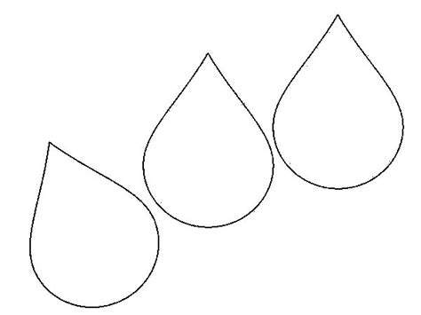 raindrops coloring page raindrop printable cliparts co