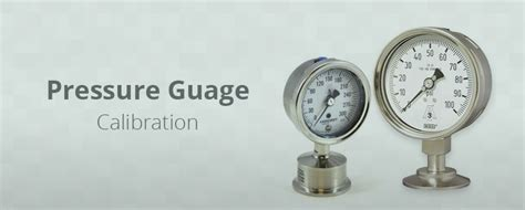 how to calibrate a pressure gauge with a pressure pressure gauge calibration