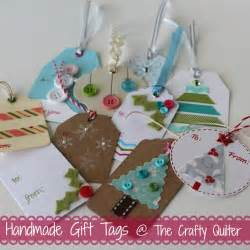 A Handmade Gift - once a month handmade gift tags more the