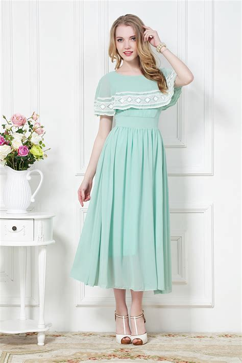 design dress at home classic style elegant lady lace patch work mantelet design