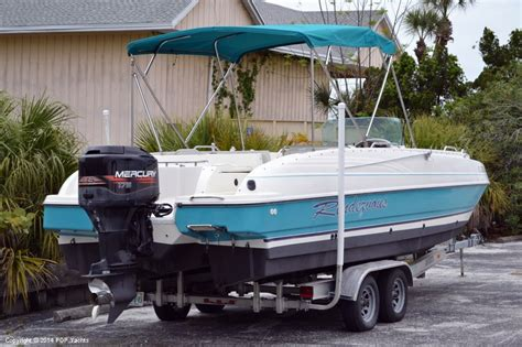 deck boats for sale in florida used 1996 used bayliner 2609 rendezvous deck boat for sale