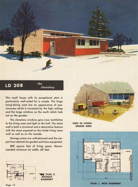 mid century house plans mid century house plan atomic ranch pinterest