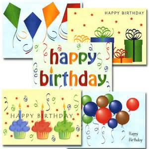 bulk boxed business birthday note card happy birthday assortment 50 cards