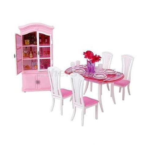 barbie dining room doll house dining room play set barbie dolls dollhouse