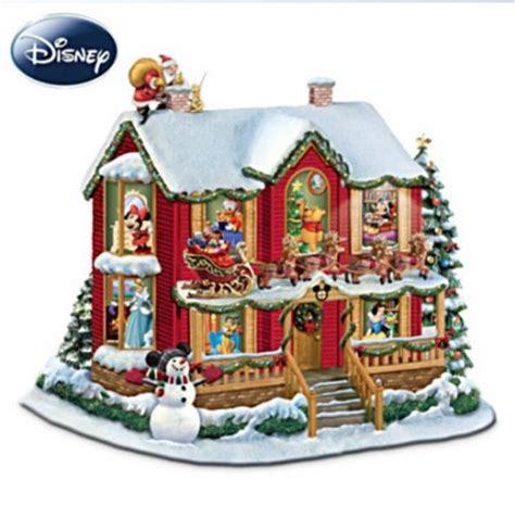goodnight lights mouse ornament festive disney villages mickey fix