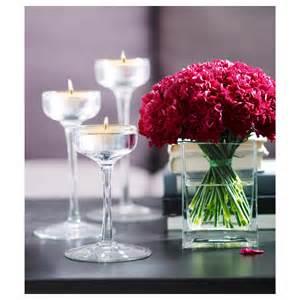 rektangel vase clear glass 14 cm ikea