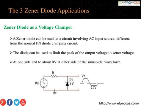 zener diodes applications best 3 applications involving in zener diode working functionality