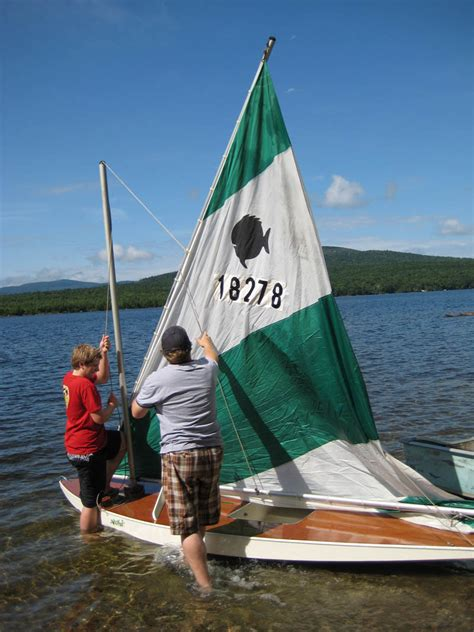 sunfish boat fun new memories with a classic wood sunfish sailboat