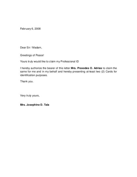 exle of authorization letter for representative sle authorization letter for representative book covers