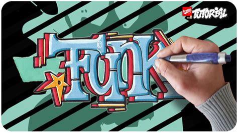 graffiti tutorial funk block style fuer anfaenger geeignet