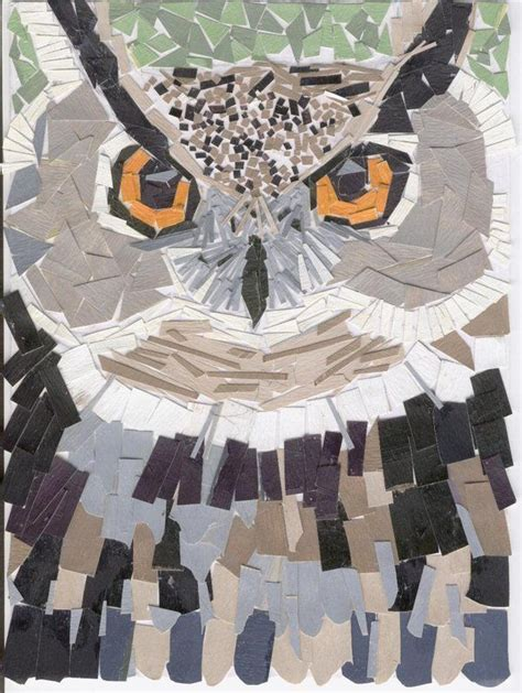 How To Make A Paper Mosaic Collage - 25 best ideas about paper mosaic on