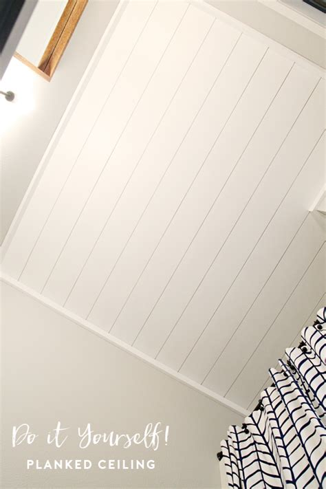 planked ceiling home renovating