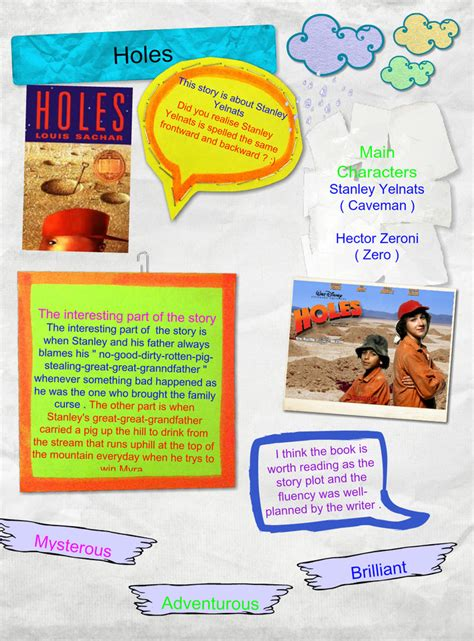book report on holes best photos of holes book synopsis plot diagram holes