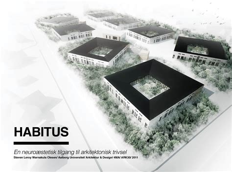 architecture thesis ideas habitus project library aalborg