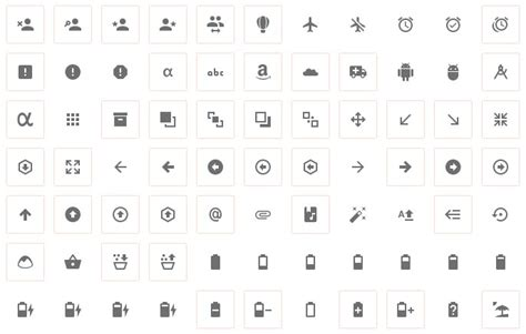 material design icon vector 70 material design resources for android developers