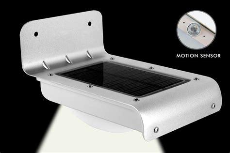 Lu Led Solar Motion Detection 100lm 16 led solar power motion sensor outdoor waterproof light garden security l