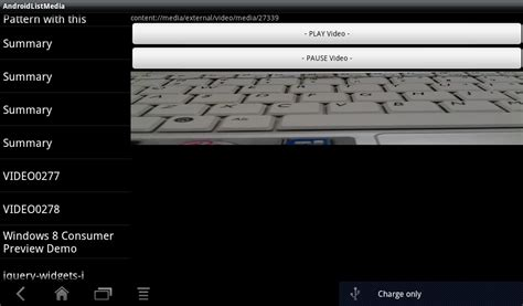 android layoutinflater oncreateview android er play media in fragment run on android 3 0 tablet