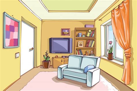online drawing room living room clipart clipground