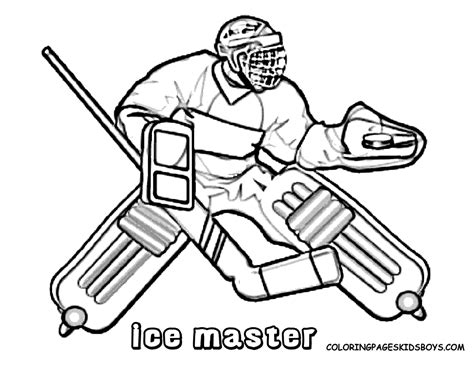 winter hockey coloring pages free printable enjoy