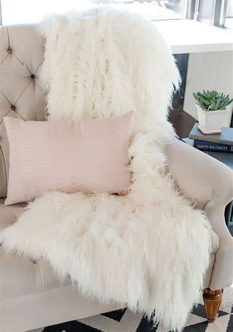faux fur home decor 15 faux fur home decor ideas to cozy up the space