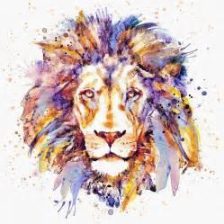 Animal Print Duvet Cover Lion Head Digital Art By Marian Voicu