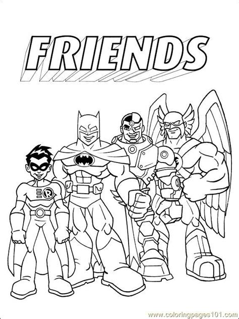 Dc Comics 009 (1) Coloring Page - Free Others Coloring