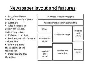 Free Report Cover Page Design Templates deconstructing newspaper front pages