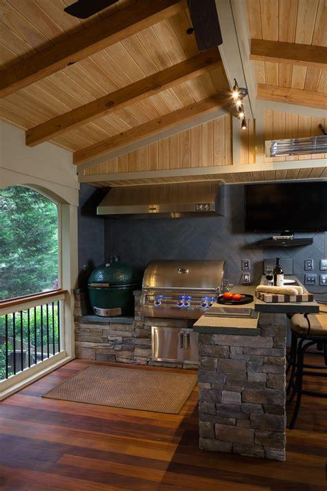 Gasl Bar Kitchen by Outdoor Kitchen Makeovers Hgtv