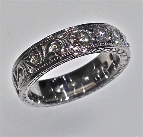 Wedding Rings Band by Wedding Bands 1 Craft Revival Jewelers