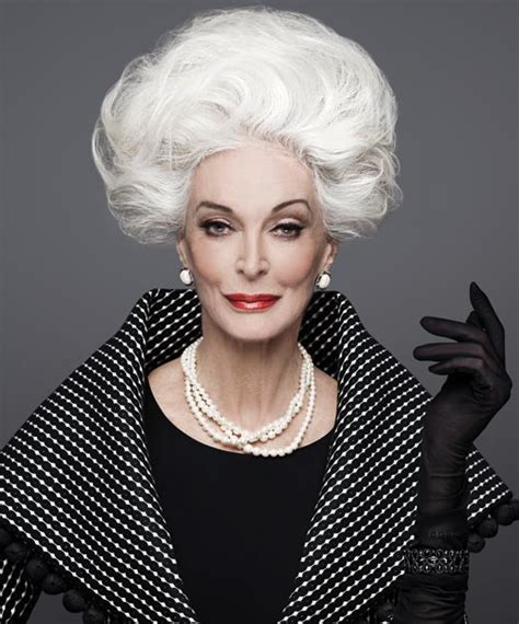 older models with gray hair repeat after us grey hair can be gorgeous