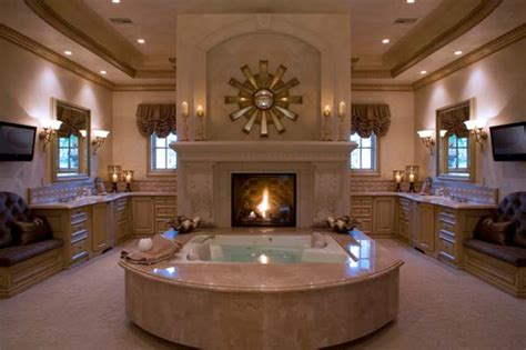 putting a tv in the bathroom 51 mesmerizing master bathrooms with fireplaces