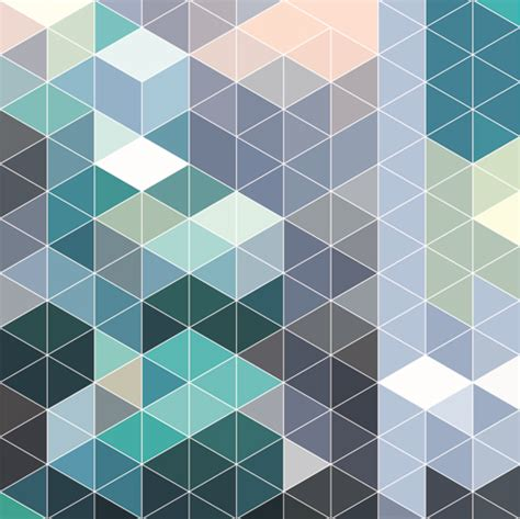 bright pattern background vector bright triangles pattern vector background 04 vector