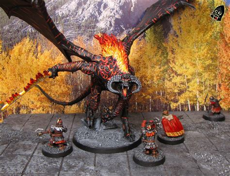 painting balrog workshop an hour of wolves shattered shields miniature gaming website