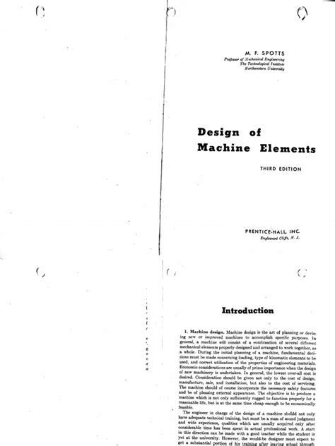 design of machine elements nptel design of machine elements by v b bhandari