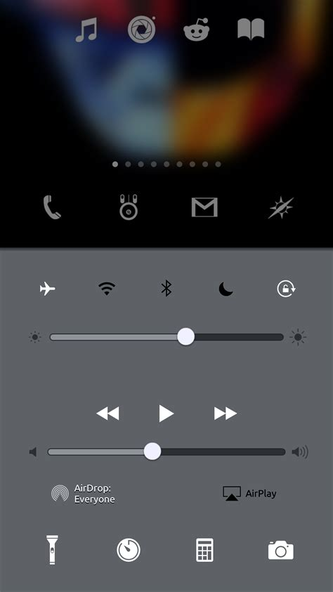 themes for notification center vex allows you to theme your notification center and