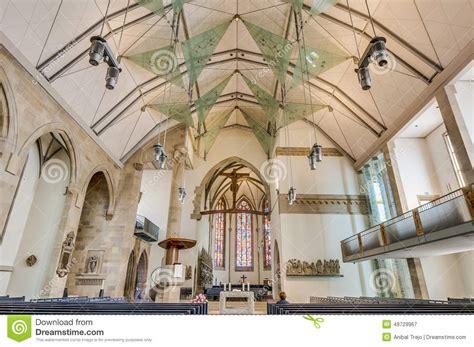 stuttgart church stiftskirche collegiate church in stuttgart germany stock