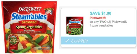printable frozen vegetable coupons pictsweet frozen vegetables printable coupon coupons 4 utah
