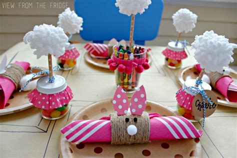 Thanksgiving Home Decorations Ideas by Easter Kids Table Setting View From The Fridgeview From