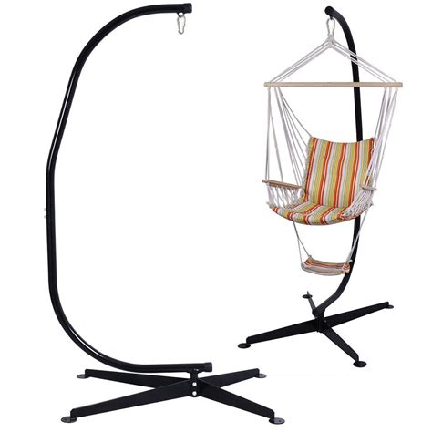 chair swing stand us solid steel c hammock frame stand construction hammock