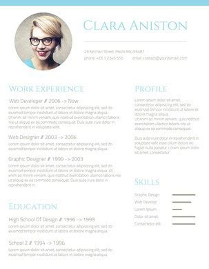 fancy resume template resume ideas