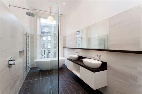 Modern Bathroom Company Contemporary Luxury Bathroom Edinburgh New Town