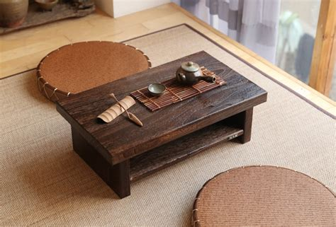 Meja Billiard Ukuran Kecil antique furniture desain jepang lantai meja teh