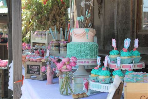 vintage shabby chic cowgirl party birthday party ideas photo    catch  party
