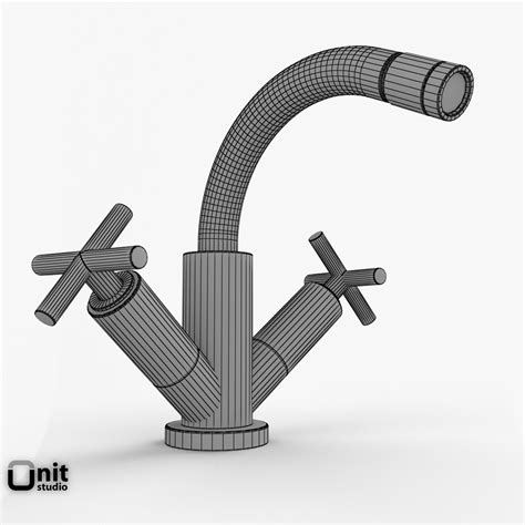 bathroom faucet collections bathroom faucets collection hudson reed helix 3d model max obj 3ds fbx dwg cgtrader com